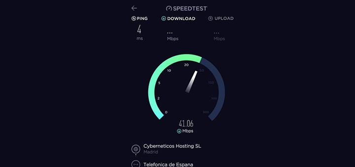 speedtest comprobar velocidad cuy