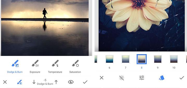 snapseed aplicaciones editar fotos cuy