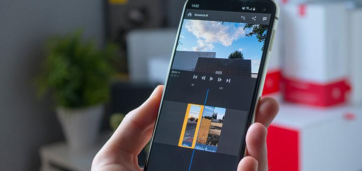 aplicaciones editar videos celular