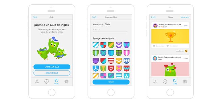mejores aplicaciones duolingo aprender ingles
