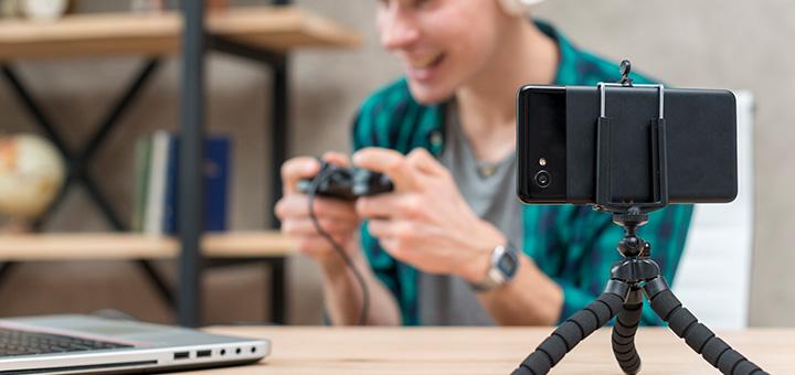 accesorios celular tripode cuy