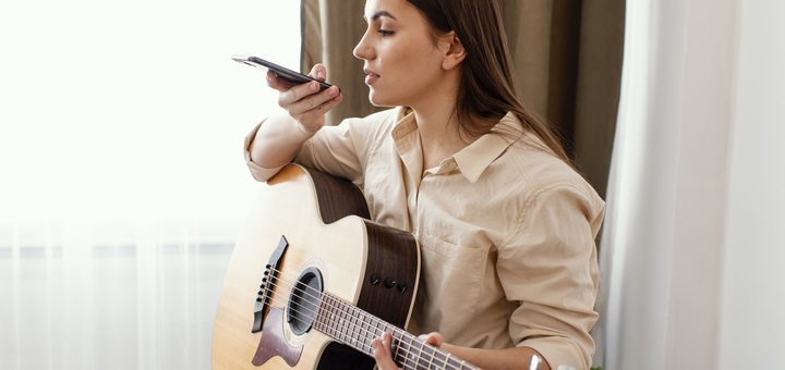 aplicaciones afinar guitarra cuy